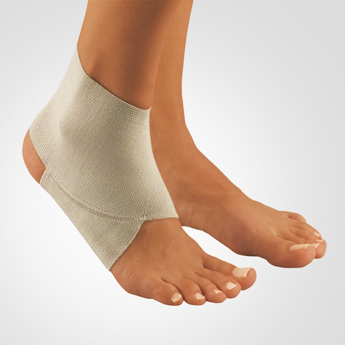 Strapped Ankle Sprain